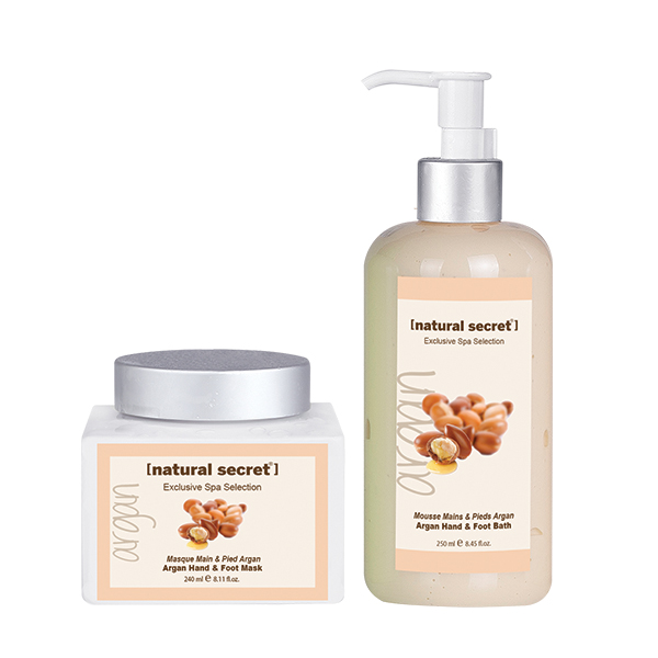 Argan (Rejuvenating) Hand and Foot Care Products