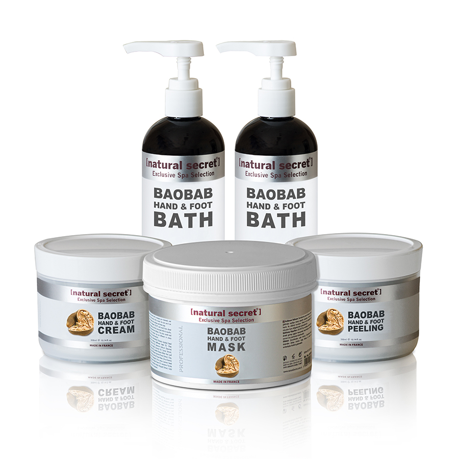Baobab (Antioxidant) Hand & Foot Care Products