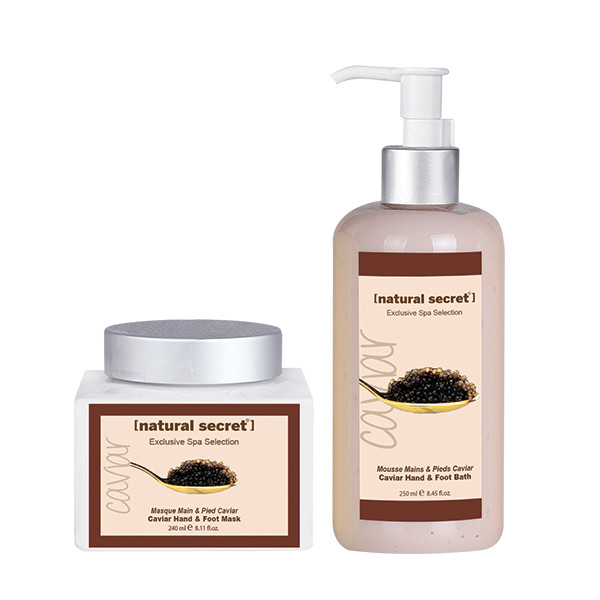 Caviar (Anti-Aging) Hand and Foot Care Products