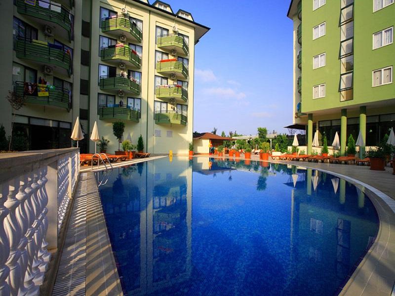 GREEN GARDEN APART HOTEL ALANYA-ANTALYA