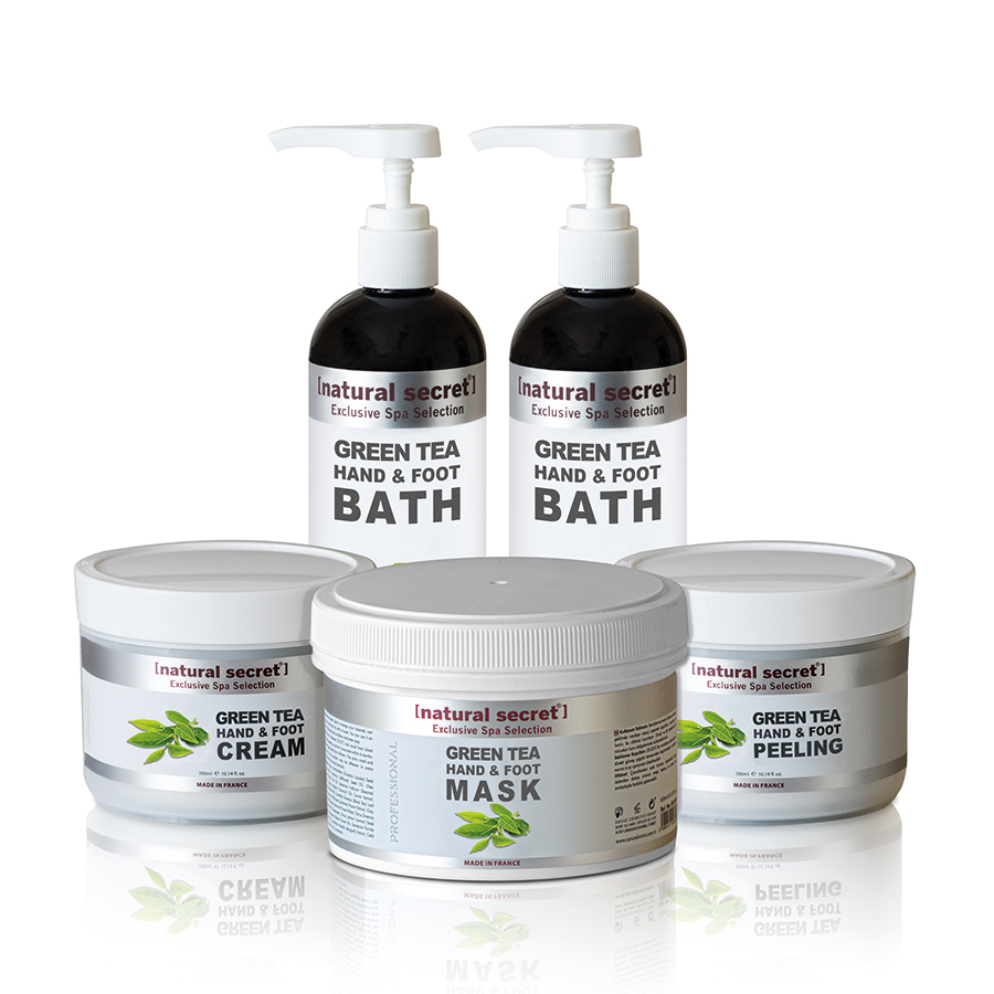 Green Tea (Antioxidant) Hand & Foot Care Products