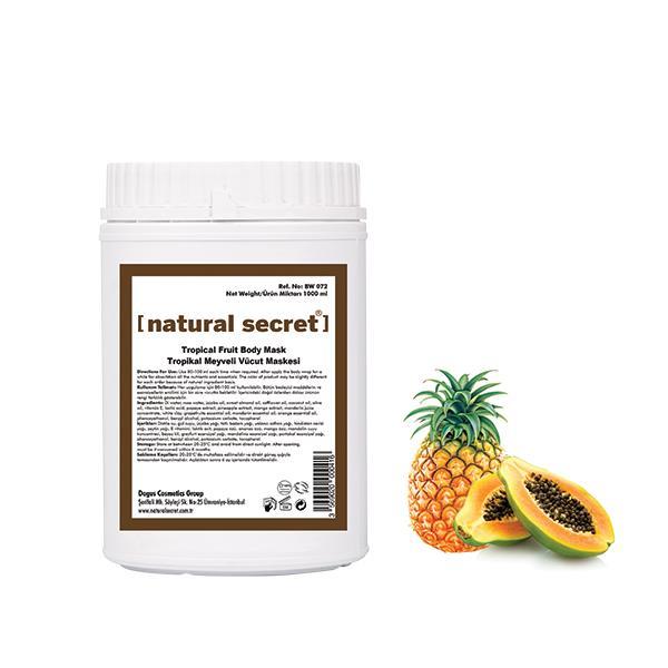 Tropikal Meyveli Vücut Maskesi