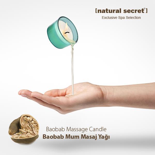 Baobab Mum Masaj & Vücut Bakım Yağı