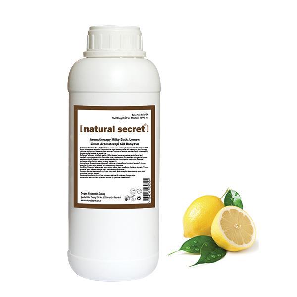 Limon Aromaterapi Süt Banyosu