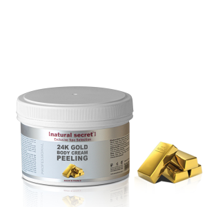 24K Gold Body Cream Peeling