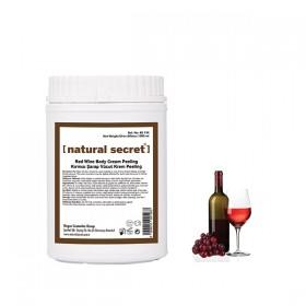 Şarap Vücut Krem Peeling