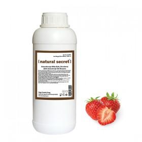 Çilek Aromaterapi Süt Banyosu