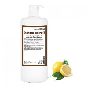 Limon Masaj ve Vücut Bakım Yağı