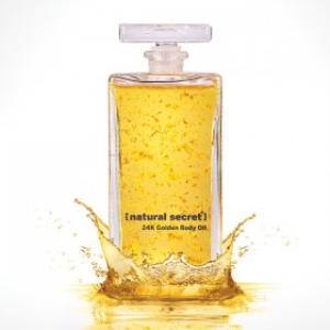 24K Altın Lüks Aromatik Vücut Bakım Yağı